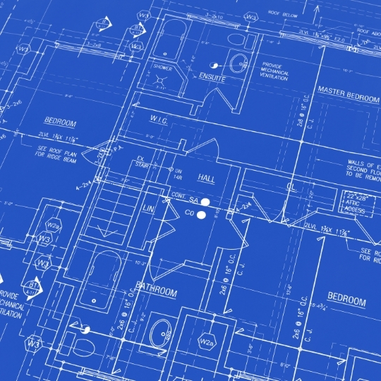 Business blueprint.